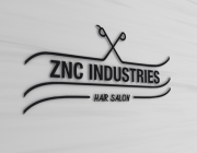 hair salon logo behance