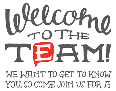 EP New Employee Welcome Invitation Concept on Behance