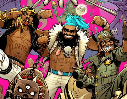 Flatbush Zombies Album Cover on Behance