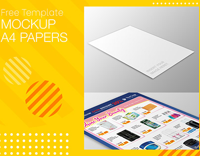 Download Ripped Paper Mockup Yellowimages