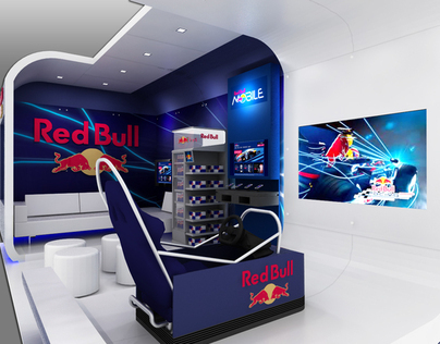 Red Bull  Custom exhibit on Behance