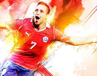 Consulta las últimas noticias, goles y resultados de la selección de fútbol chilena. Seleccion Chilena Projects Photos Videos Logos Illustrations And Branding On Behance