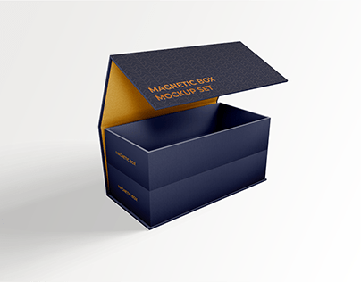 Download Free Magnetic Box Mockup Yellowimages