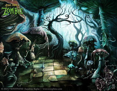 Chess Wallpaper Hd With Quotes Alice In Wonderland Once Upon A Zombie On Behance