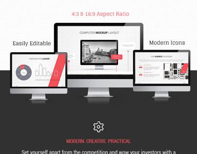 Accentuate Modern Powerpoint on Behance