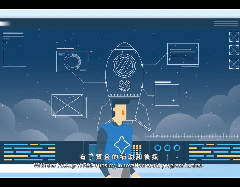 產業升級創新平臺輔導計畫動畫(中英字幕) on Behance