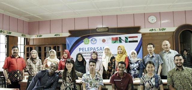 Pelepasan Mahasiswa Asing Program Darmasiswa Republik Indonesia Tahun 2018/2019