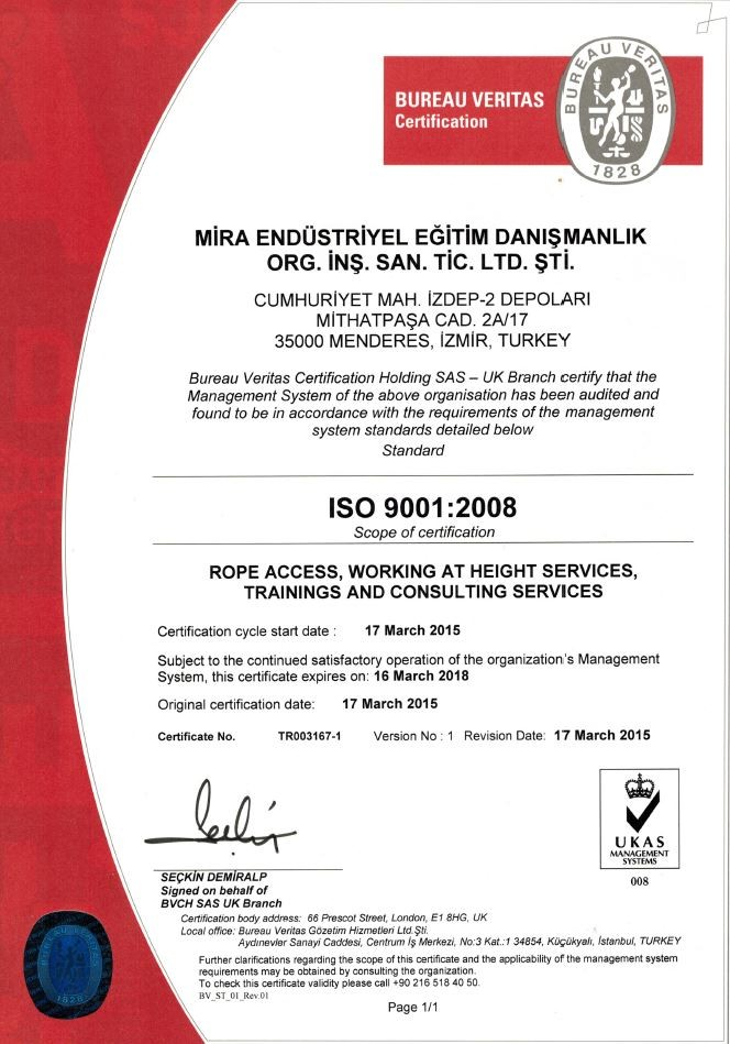 ISO 9001 Quality Standards