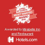 Loved by Guest Award Winner 2018 by hotels.com