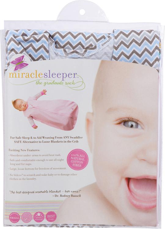 Miracle Sleeper®  Blue Chevron  c621230f0