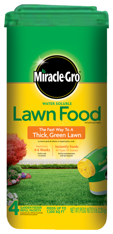 Thick R Lawn Lowes : thick, lowes, Miracle-Gro, Water, Soluble, Plant