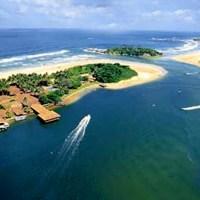 Bentota Beach & lagoon