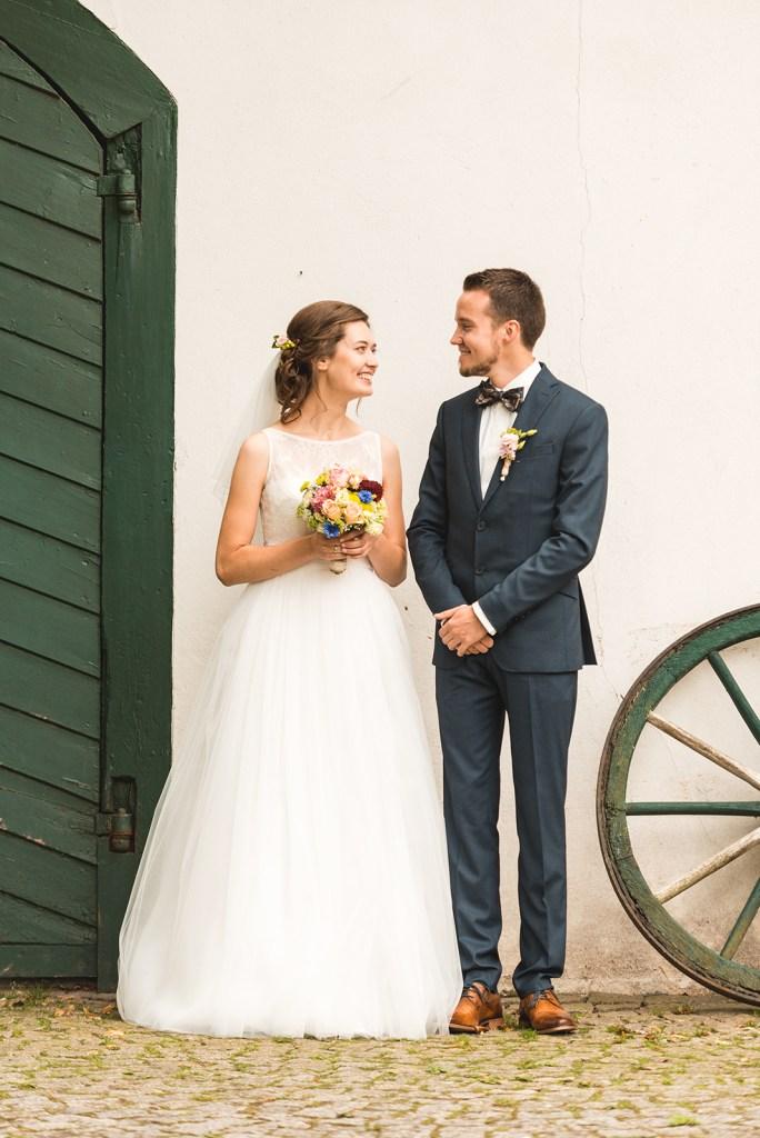 Brautpaar Alex und Kathi Schein