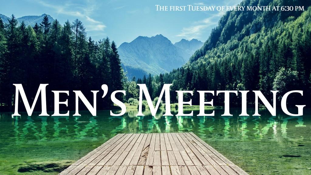 mens meeting