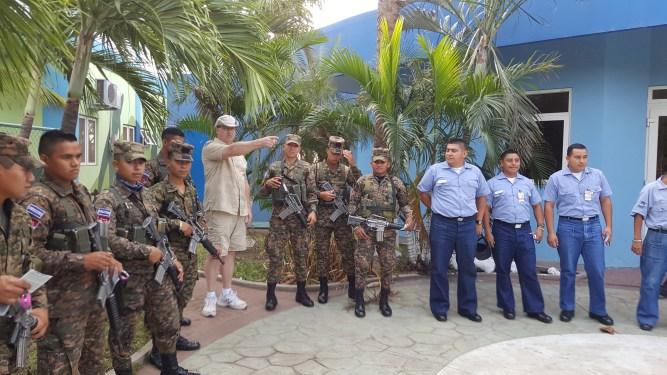 Visitnig the military