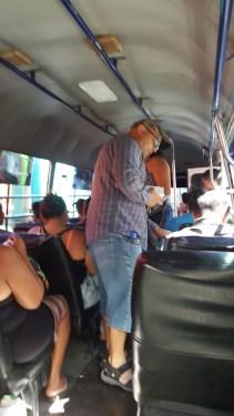 Evangelising on the bus