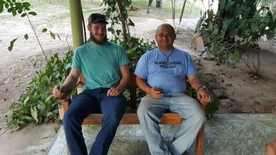 Hanging out in Honduras