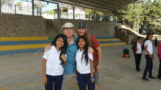 Visitiing a school