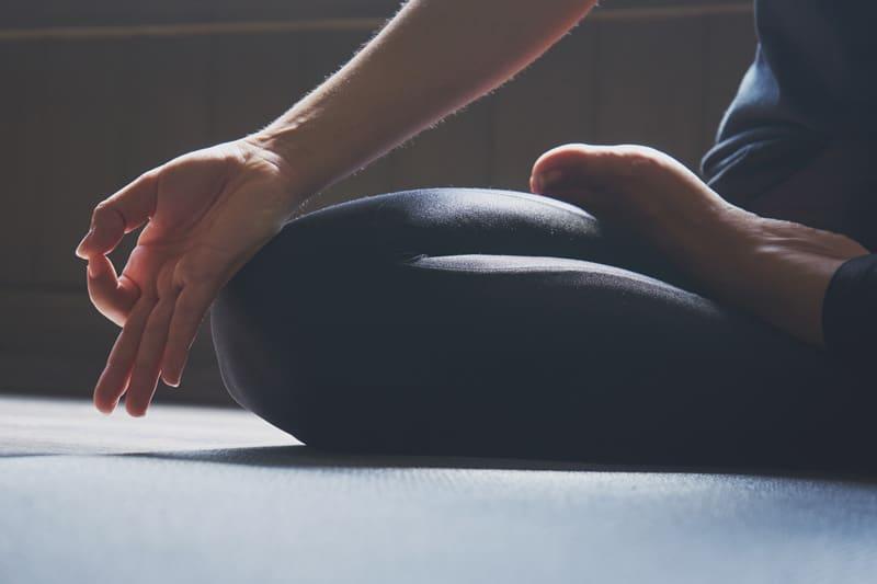 Yoga and Meditation pose