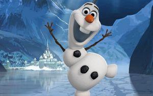 Olaf, de los pocos que no está congelado.