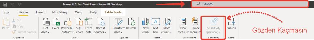 microsoft power bi february features update all new header bar
