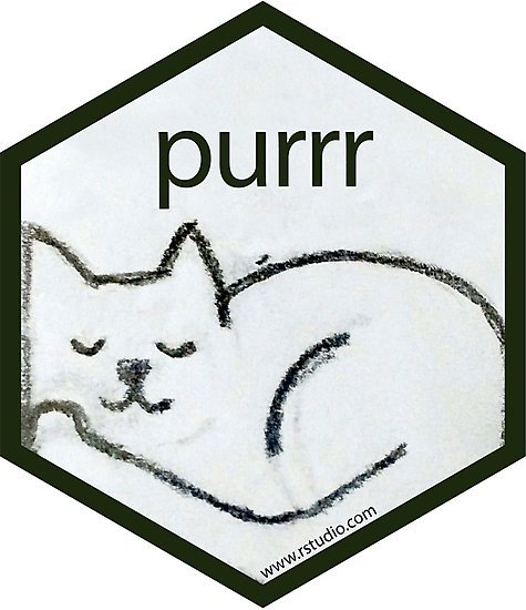 r statistic package purrr library
