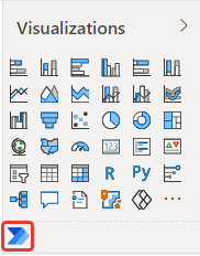 microsoft power bi get more visual power automate marketplace insert report visualizations