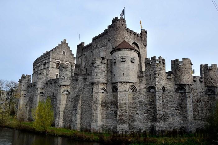 Castillo de los Condes de Flandes Gante