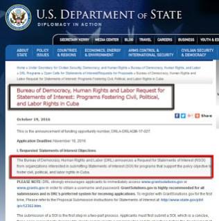 #Obama: directiva y subversión contra #Cuba con 5,6 millones USD