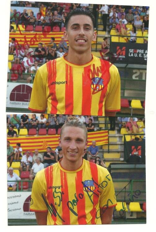 fotos jugadores firmadas