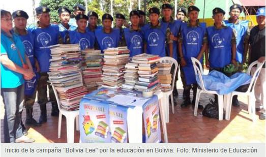 Comienza séptima campaña 'Bolivia Lee' con el objetivo de recaudar un millón de libros