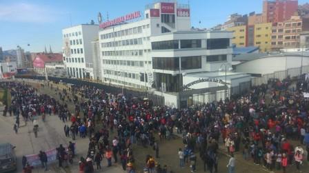 La UPEA anuncia marchas y movilizaciones para este martes y convoca a otros sectores