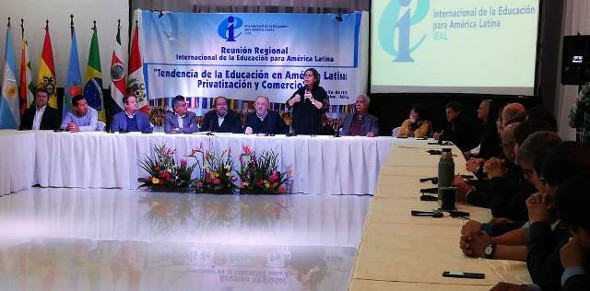 Más de 30 mil personas serán parte de la Reunión Regional de la Internacional de la Educación