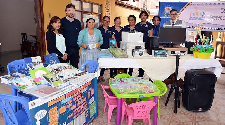 Unicef fortalece el centro Cepat para atención a víctimas de violencia sexual