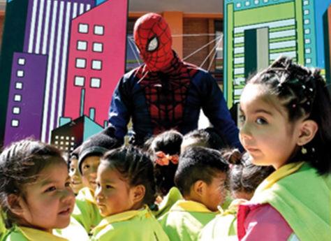 Ferias educativas buscan convertir a niños y niñas en 'superhéroes viales'