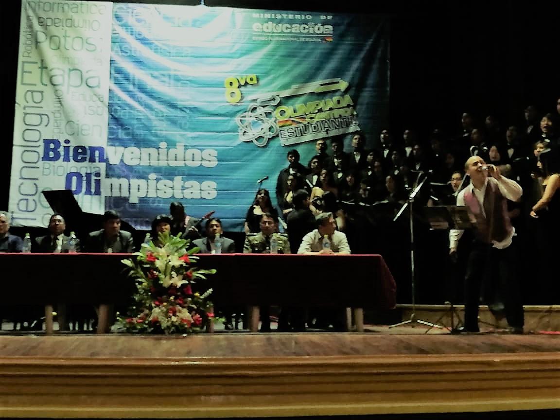 Emocionante inauguración en Potosí dio inició a la 8va Olimpiada Científica Plurinacional Boliviana