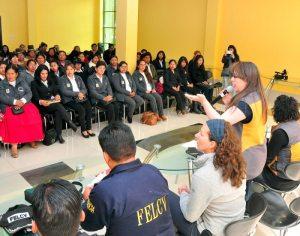 Activistas educativas recibieron certificados
