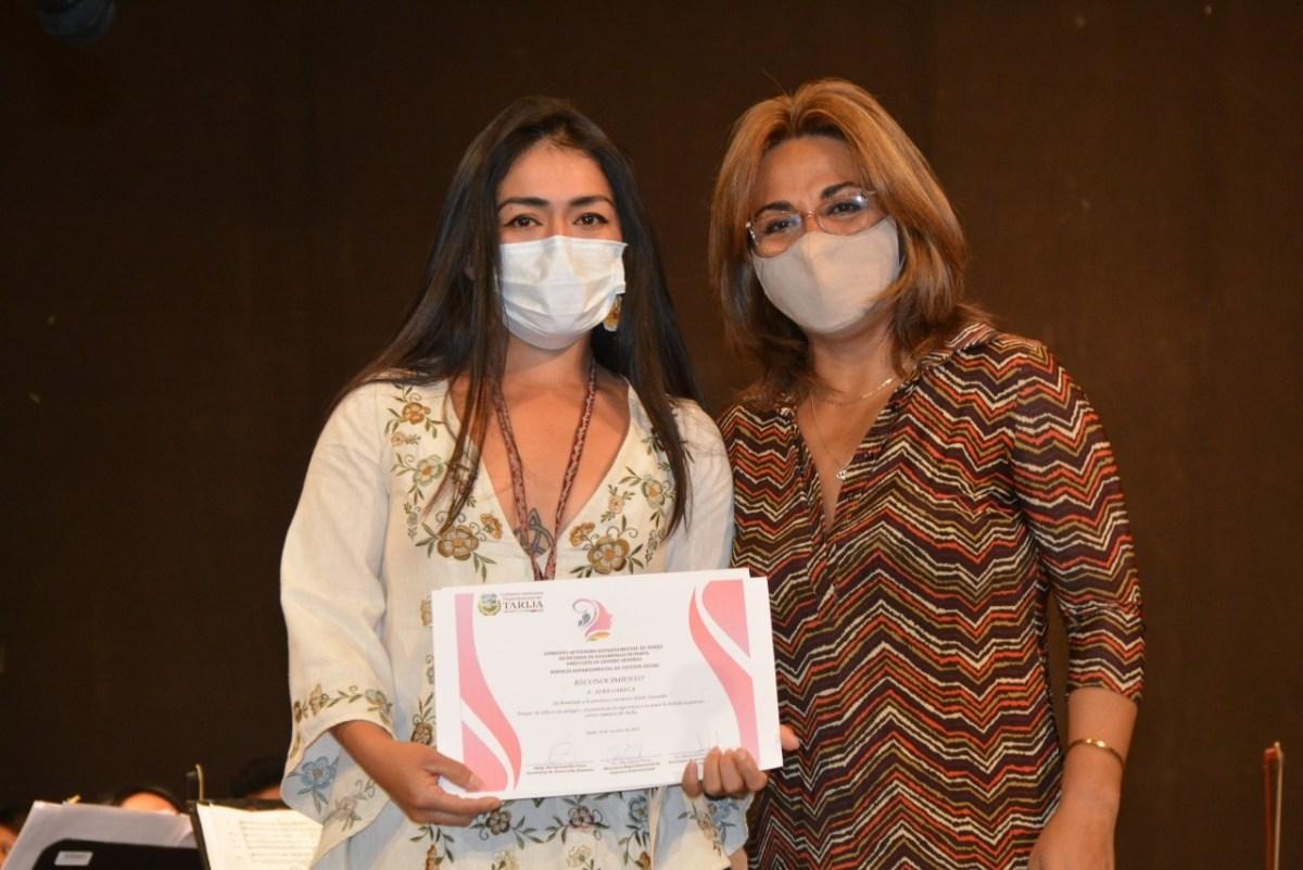 Gobernación reconoció a 10 mujeres tarijeñas destacadas por el Día de la Mujer Boliviana