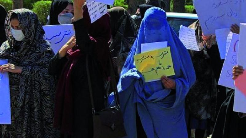 Navalni, las mujeres afganas y Añez, finalistas del Sájarov 2021