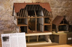 Model of the medieval buildings of Guildford