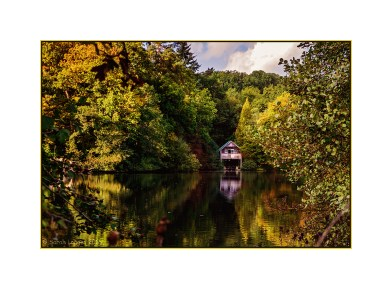Lake and Boat House at Winkworth Arboretum