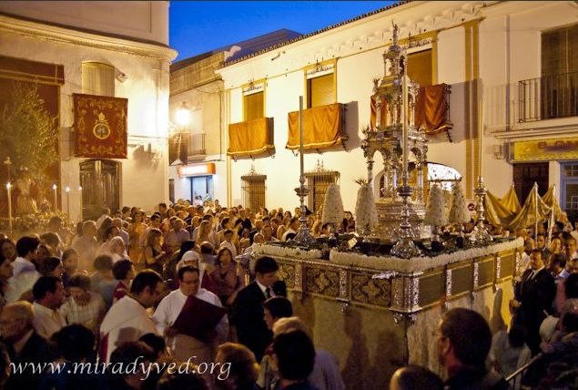 CORPUS CHRISTI EN OLIVARES 2011