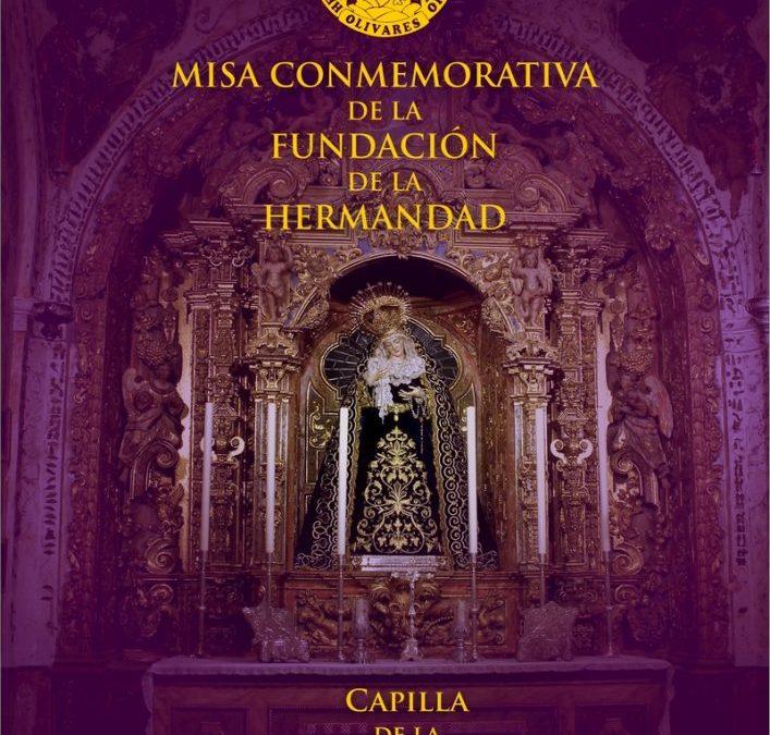 MISA CONMEMORATIVA DE LA FUNDACIÓN DE LA HERMANDAD DE LA SOLEDAD