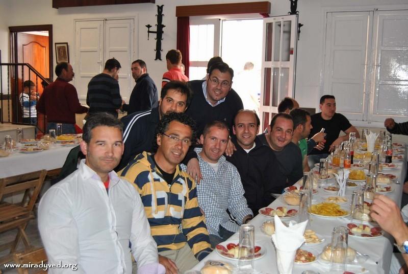 COMIDA DE COSTALEROS 2012