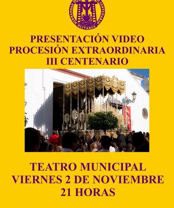 PRESENTACIÓN DEL DVD DE LA PROCESIÓN EXTRAORDINARIA