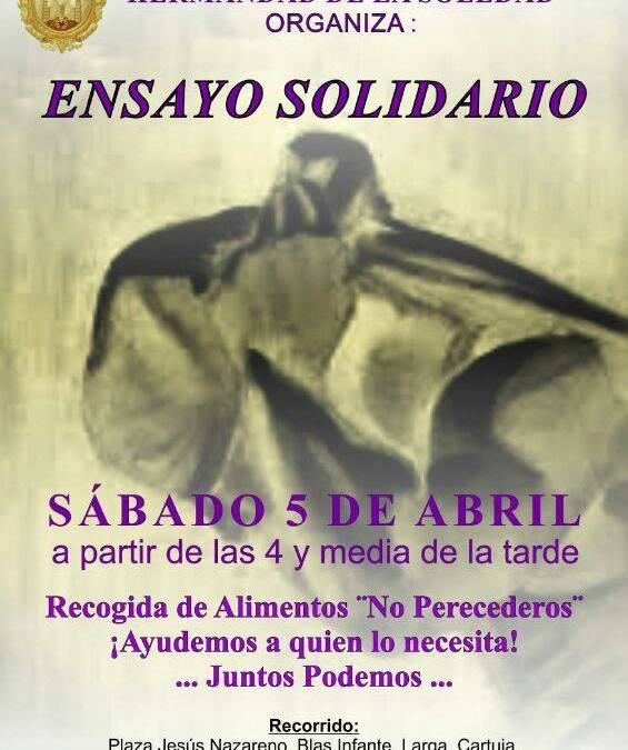 ENSAYO SOLIDARIO DE LA HERMANDAD DE LA SOLEDAD