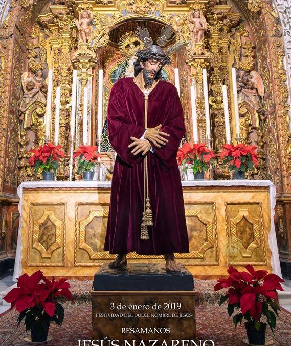 BESAMANOS A JESÚS NAZARENO 2019