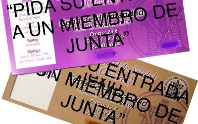 CENA DE HERMANDAD EN LA FERIA DE OLIVARES 2019