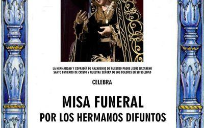MISA FUNERAL POR LOS HERMANOS DIFUNTOS
