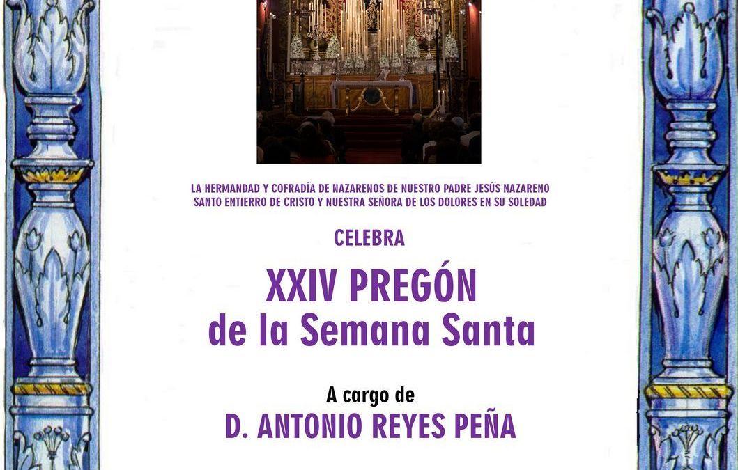 XXIV PREGÓN DE LA SEMANA SANTA